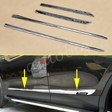 Chrome Door Body Molding Strip Trim For Toyota RAV4 2013-2017 Accessories