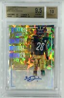 BGS 9.5/10 SEAN DAVIS Panini Contenders Rookie RC Cracked Ice Auto #/24 STEELERS