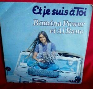 ROMINA POWER Collezione di 10 singoli 45rpm 7' + PS ITALY 1960/70 da EX+ a MINT-