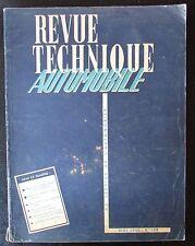 ANCIENNE REVUE TECHNIQUE AUTOMOBILE N° 109 de 1955 SIMCA MONTE CARLO & VENDOME