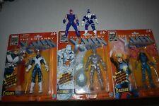 The Uncanny X-Men, Cyclops, Dazzler, Ice Man and Vintage MARVEL Toy Biz Lot