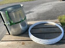 44 Dia 4 Length Spray Paint Booth Duct Exhaust Stack Pipe