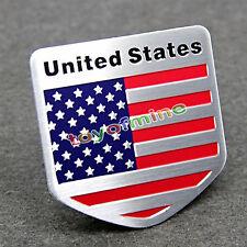 Car Auto Truck Decal American USA US Flag Decor Sticker 3D Emblem Badge Logo