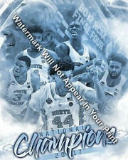 UNC North Carolina Tar Heels 2017 National Champions Basketball Berry Meeks Pic
