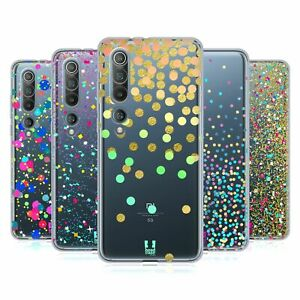 HEAD CASE DESIGNS CONFETTI SOFT GEL CASE & WALLPAPER FOR XIAOMI PHONES