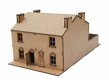 28 mm MDF laser cut Double Terrace Building WW II for Bolt Action