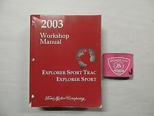 Service Repair Manuals For Ford Explorer Sport Trac For Sale Ebay