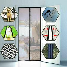 """Magnetic Screen Door Summer Mesh Curtain Durable Hands-Free Mosquito Net 39""""x82"""""""