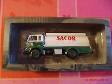 n° 108 FIAT 643-690 citerne SACOR Année 1960 CAMIONS D'AUTREFOIS 1/43 neuf boite