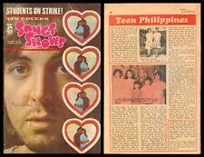 1969 Phil SONGS & SHOWS KOMIKS Beatles Paul McCartney Comics