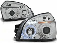 HYUNDAI TUCSON 2004-2006 2007 2008 2009 2010 HEADLIGHTS LPHU01 ANGEL EYES LED