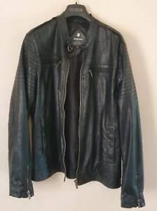 Faux Men's Leather Jacket. Worn twice.