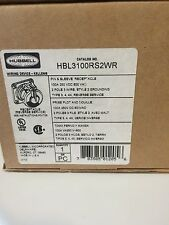 HUBBELL HBL3100RS2WR RECEPTACLE *NEW IN A BOX*