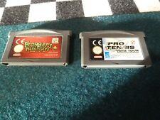 2 jeux game boy advance Frogger's adventures & Pro tennis wta tour