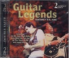 Guitar Legends BB King, santana [double CD]