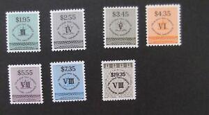 Trinidad & Tobago-National Insurance stamps-MNH