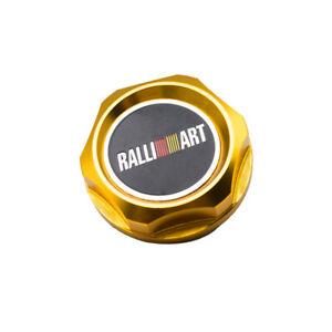 1Pcs Golden Ralliart Auto Oil Drain Plug Metal Alloy Engine Modified Filler Caps