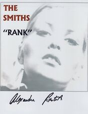Alexandra Bastedo Photo Signed In Person - The Smiths - G970