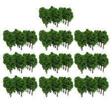 200X Trees Model Train Railroad Wargame Diorama Architecture Scenery N Scale 8cm