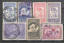 R8555 - VENEZUELA 1950 - LOTTO AEREA DELL'ANNATA - VEDI FOTO