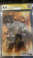 Dark Nights: Death Metal Legends of the Dark Knights 1:25 CGC 9.4 7x sig