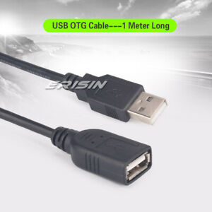 1 Meter Micro Usb 2.0 USB OTG Cord Extension Cable A Male to A Female 023THB