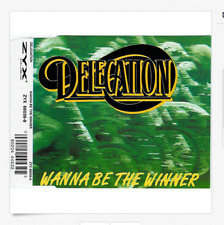 DELEGATION - WANNA BE THE WINNER - 4 TRACK MUSIC CD SINGLE - NEW SEALED - G701