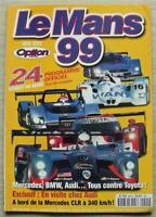 LE MANS 24 HOUR ENDURANCE CAR RACE 1999 Official Programme