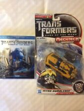 3d Blu Ray Transformers Dark Of The Moon And Deluxe Bumblebee Nitro Toy