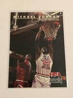 1992 Skybox Team USA Basketball Base Card #43 - Michael Jordan - Chicago Bulls