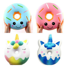 32cm Super Jumbo Squishys Galaxy Unicorn Donut Doughnut Slow Rising Toy Kid Gift
