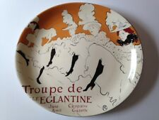 1995 (1) Sango CABARET PATTERN Moulin Rouge Design SERVING PLATE PLATTER
