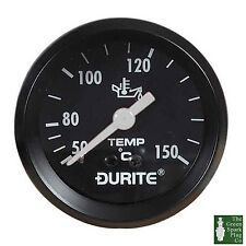 Durite - Oil Temperature Gauge 52mm Mechanical with 12'' Capillary Bx1 - 0-533-1