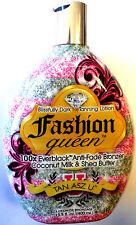 Brown Sugar Fashion Queen 100x Black Bronzer Bronzing Tanning Lotion Tan Asz u