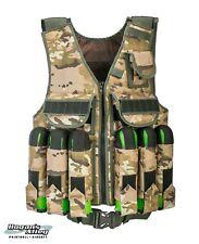 Zaf Industries Tactical Paintball Vest - Khaki Camo