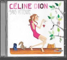 CD ALBUM 14 TITRES--CELINE DION--SANS ATTENDRE--2012