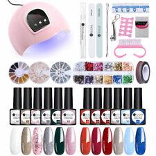 UR SUGAR 12 Colors UV Gel Polish Nail Art Kit With USB Gel Nail Dryer Lamp Tool