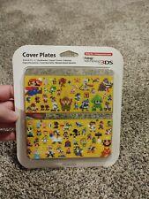 New Nintendo 3DS Cover Plates Mario Maker 8-Bit NES No 067 Brand New Import