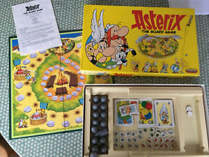 Asterix The Board Game 1990 Vintage Spears Games COMPLETE Instructions Used