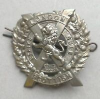 London Scottish military cap badge as shown.