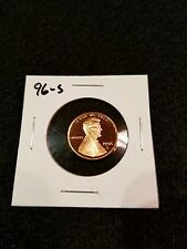 1996-S US PROOF LINCOLN CENT FROM US PROOF SET