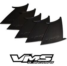 5 FIVE VMS RACING REAR WING SPOILER SUPPORT STABILIZER for 11-14 SUBARU WRX STI