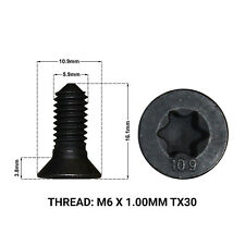 AUDI A3 8V & 8P 2003-> 2x FRONT BRAKE DISC RETAINING SCREWS DRS1667Y