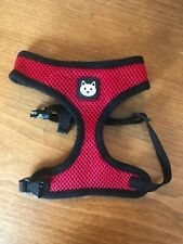 Black & Red Small Cat Harness - Soft Mesh - Pets at Home - VGC
