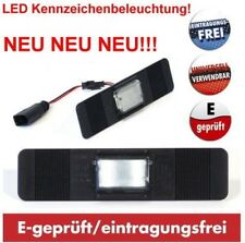 LED License Plate Light Universal 12x3cm Registration Exempt Lancia Mazda Smart