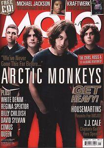 Mojo September 2009 Arctic Monkeys, White Denim, Housemartins 070317nonDBE2