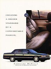 1994 Cadillac DeVille Advertisement Print Art Car Ad J570