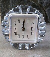 Sapphire Crystal Mantle Desk Table Shelf Clock, New