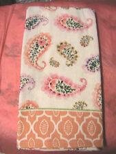 1 whole COLORFUL PAISLEY FLORAL~ KITCHEN~BATH~SHOP~COTTAGE quality HAND TOWEL