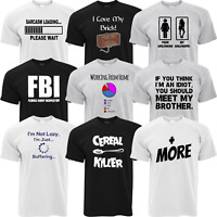 Mens Funny T Shirt Novelty Joke TShirt Rude Gift Him Dad Birthday Slogan Tee 3